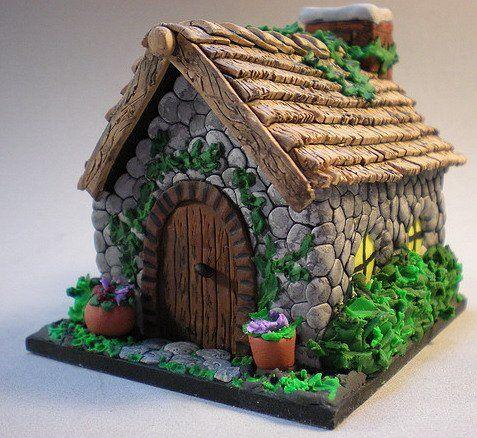 Сделать сказочный домик своими руками