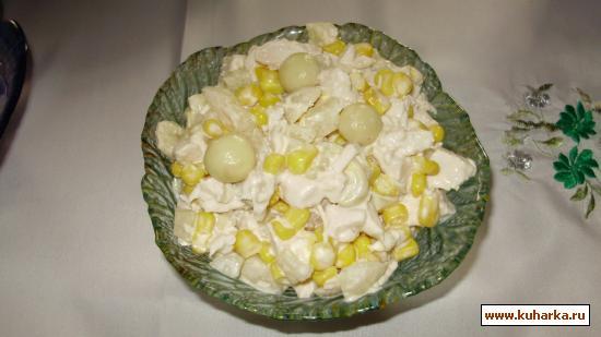 Рецепты на скорую руку салатов из шампиньонов с