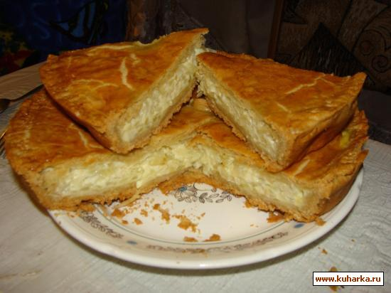 Пирог с сырками плавленными сырками рецепт