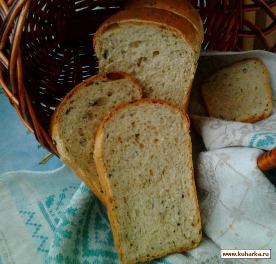 Рецепт хлеба в яйцах