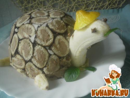 Торт черепаха рецепт в домашних условиях йогурт
